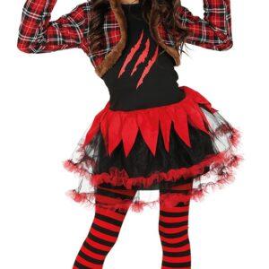 Guirca Dětský kostým Červený vlk Velikost - děti: L
