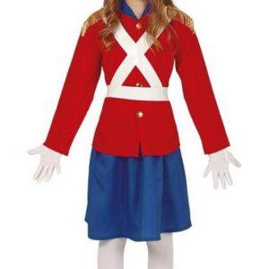 Guirca Dětský kostým - Cínový vojáček dívka Velikost - děti: XL