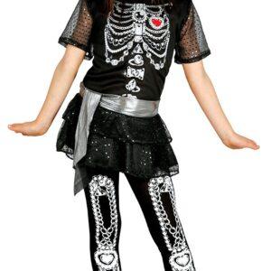 Guirca Dětský kostým Diamantová Kostra Velikost - děti: XL
