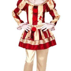 Guirca Dětský kostým - Hororový Klaun dívka Velikost - děti: XL