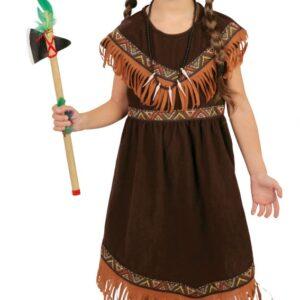 Guirca Dětský kostým Indiánka Velikost - děti: XL