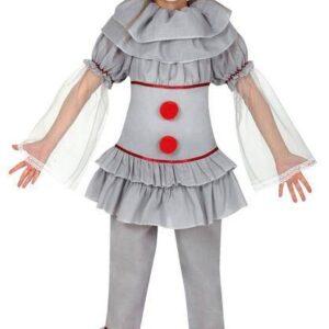 Guirca Dětský kostým - Killer Clown dívka Velikost - děti: XL