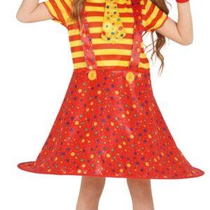 Guirca Dětský kostým - Malá Klaunka Velikost - děti: XL