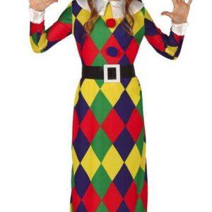 Guirca Dětský kostým - Šašek dívka Velikost - děti: XL