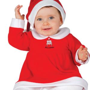 Guirca Dětský kostým Slečna Clausová Velikost nejmenší: 12 - 24 měsíců