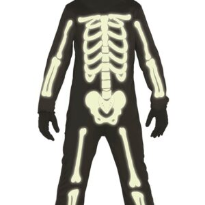 Guirca Dětský kostým Svítící kostra Velikost - děti: XL