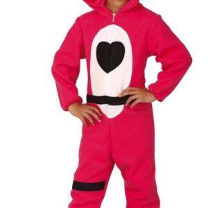Guirca Dětský kostým - Teddy bear růžový (Fortnite) Velikost - děti: 12 - 14 let