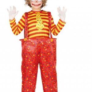 Guirca Dětský kostým - Zábavný Klaun Velikost - děti: XL