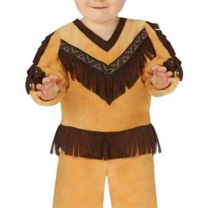 Guirca Dětský kostým pro nejmenší - Indián Velikost nejmenší: 12 - 24 měsíců
