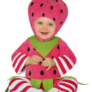 Guirca Dětský kostým pro nejmenší - Malá Jahůdka Velikost nejmenší: 12 - 24 měsíců