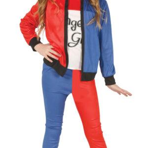 Guirca Harley Quinn - dětský kostým Velikost - děti: XL