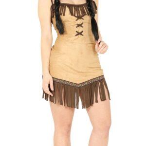 Guirca Kostým Indiánka Miwok Velikost - dospělý: L