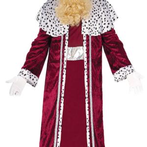 Guirca Kostým Král Kašpar - červený Velikost - dospělý: L
