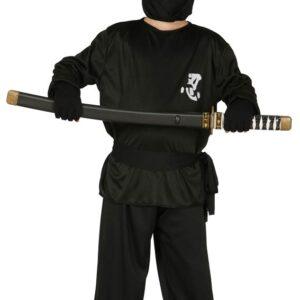 Guirca Kostým Ninja - dětský Velikost - děti: XL