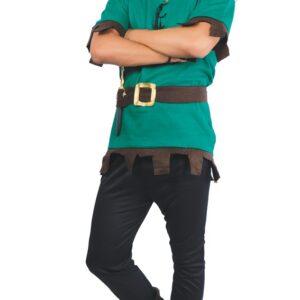 Guirca Kostým Petra Pana Velikost - dospělý: L