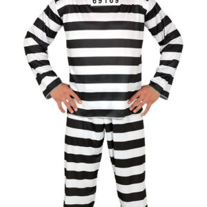 Guirca Kostým Vězně Velikost - dospělý: L