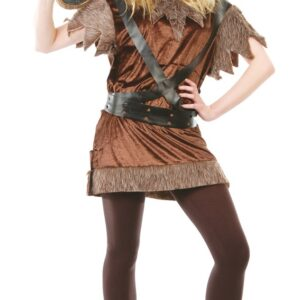 Guirca Kostým Vikingská žena Velikost - dospělý: L