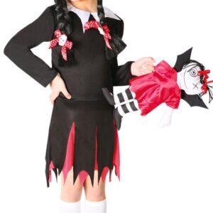 Guirca Kostým Wednesday Addams Velikost - děti: L