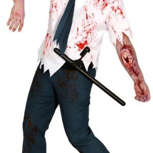 Guirca Kostým Zombie policista Velikost - dospělý: L