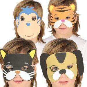 Guirca Maska Zvířata