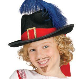 Guirca Mušketiersky klobúk