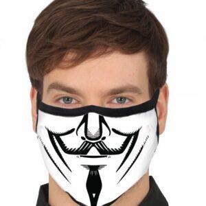 Guirca Ochranné rouško s motivem Anonymous
