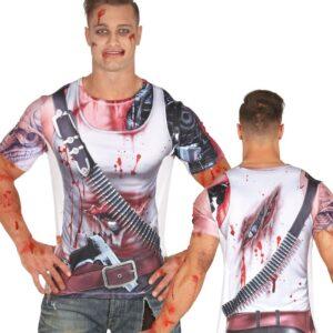 Guirca Pánske tričko s potislem - Droid Velikost - dospělý: L