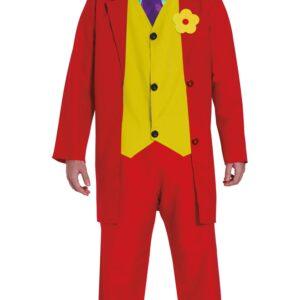 Guirca Pánský kostým - Joker Mr. Smile Velikost - dospělý: L