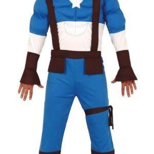 Guirca Pánský kostým - Kapitán Amerika Velikost - dospělý: L