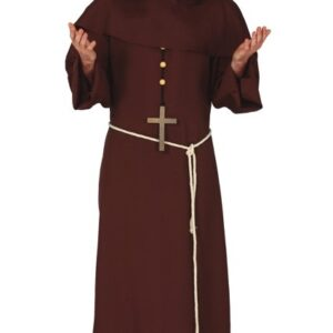 Guirca Pánský kostým - Mnich Velikost - dospělý: M
