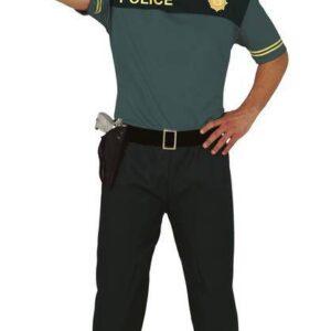 Guirca Pánský kostým - Policista Velikost - dospělý: L