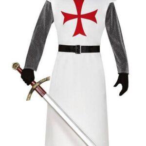 Guirca Pánský kostým - Templář Velikost - dospělý: L