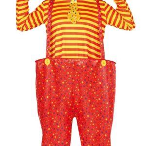 Guirca Pánsky kostým - Zábavný Klaun Velikost - dospělý: L