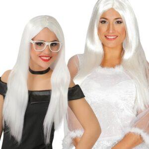 Guirca Paruka bílá dlouhá
