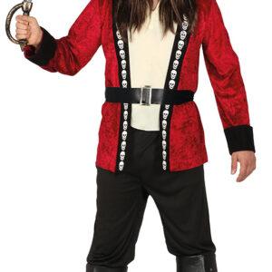 Guirca Pirátský kapitán Velikost - dospělý: M