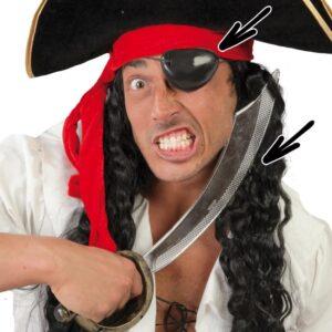 Guirca Pirátsky meč a pásek přes oko