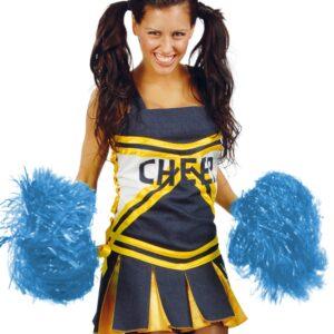 Guirca Pompomy pro mažoretky Barva: Modrá