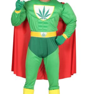 Guirca Superhrdina Marihuana Velikost - dospělý: L