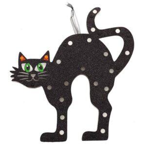 Guirca Závěsná kočka na stěnu se světlem