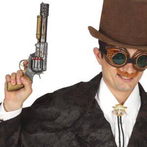 Guirca Zbraň ve stylu Steampunk 30 cm