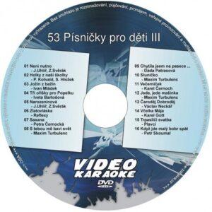 HeliumKing DVD 53 - Písničky pro děti III