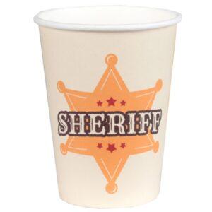 KELÍMKY papírové Sheriff 270ml 10ks
