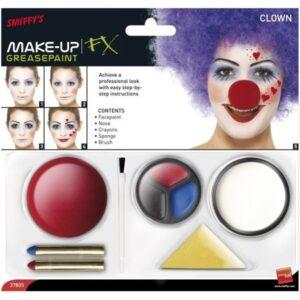 MAKE-UP Klaun set s nosem