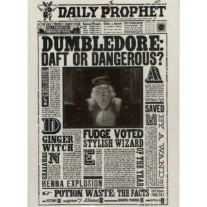 Minalima Pohlednice Harry Potter 3D - Brumbál: Zmatený