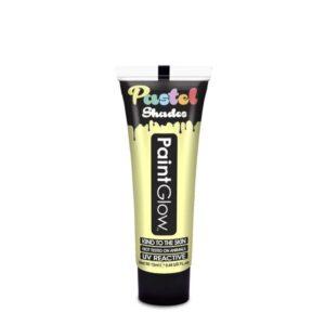 PGW UV barva na obličej a telo - Pastel Barva: Pastelová žlutá