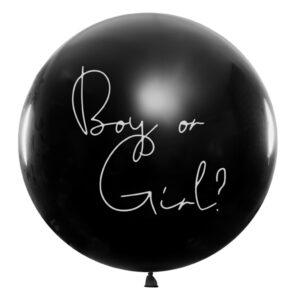 PartyDeco Balonek Boy or Girl - Girl