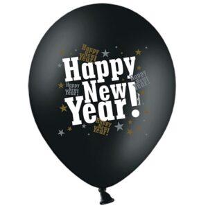 PartyDeco Balónek Happy New Year