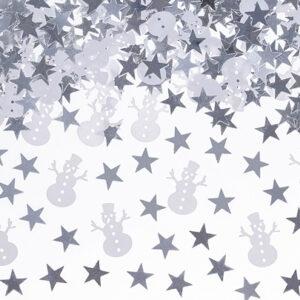 PartyDeco Konfety - Vánoční