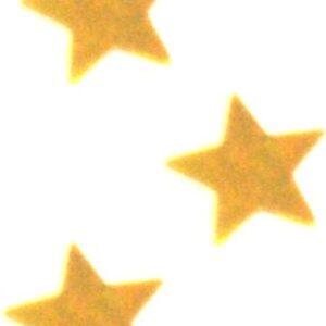 PartyDeco Konfety zlaté HVĚZDY 30 g