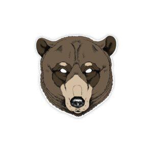 PartyDeco Maska medvěd